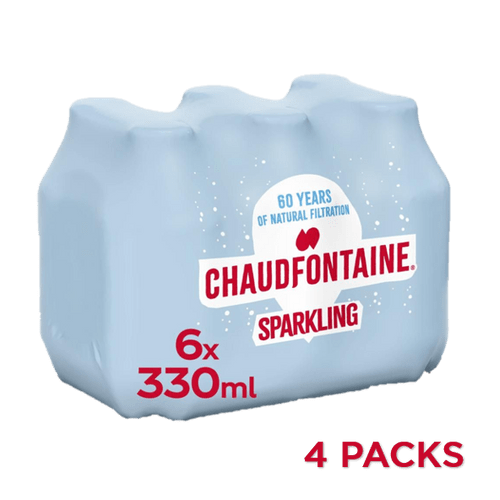 Chaudfontaine Bruisend 4x6x33cl